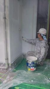 木村様外壁中塗り