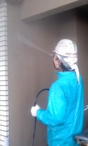 西尾様高圧洗浄