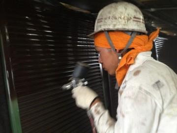 0526雨戸塗装