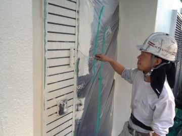 0521サイディング壁仕上げ塗り