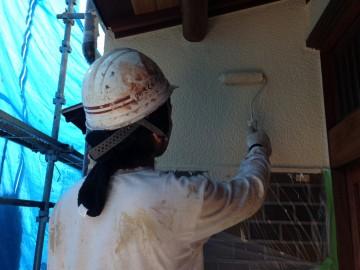 0524外壁仕上げ塗り