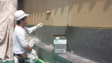 0524外壁下塗り