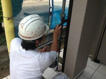 0527雨樋塗装