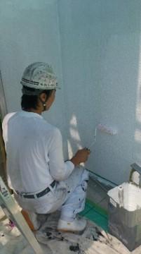0523外壁下塗り2回目