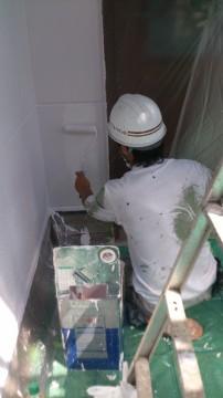 0619外壁仕上げ塗り
