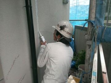 0624外壁コーキング補修