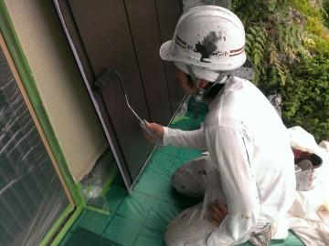 0618雨戸塗装