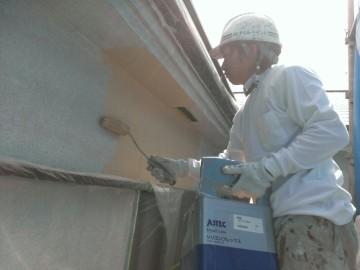 0625外壁中塗り