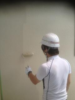 0624外壁仕上げ塗り