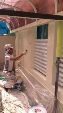 0625外壁仕上げ塗り