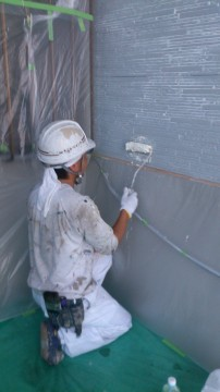0723外壁下塗り