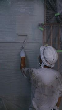 0725外壁仕上げ塗り