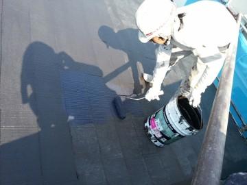 0721屋根仕上げ塗り