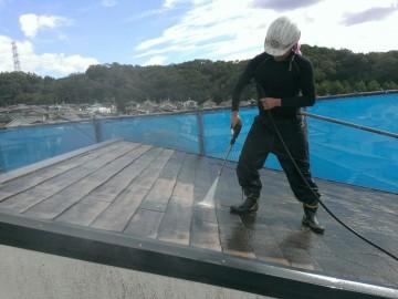 0820屋根高圧洗浄