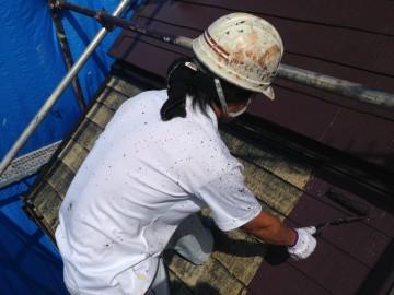 0820屋根中塗り