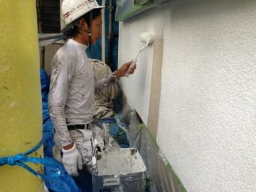 0828外壁下塗りマスチック