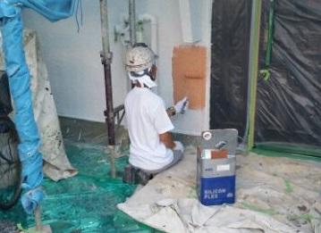 0909外壁中塗り - コピー