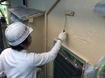 0130外壁上塗り